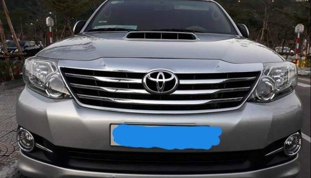 Bán Toyota Fortuner 2016, màu bạc, xe đẹp, đi được 100.000km