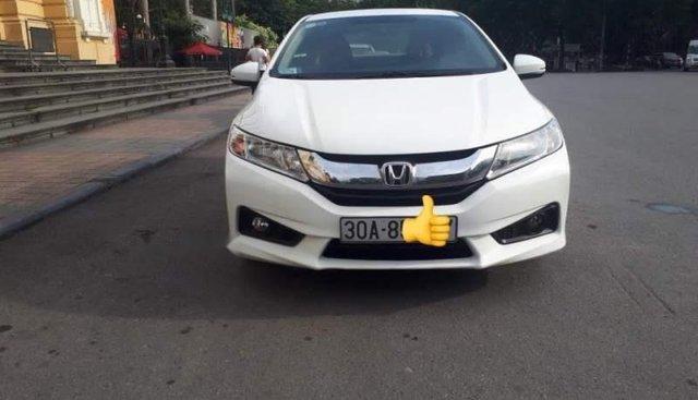 Bán Honda City 1.5 CVT AT 2016, màu trắng