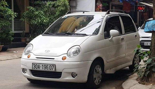 Bán Daewoo Matiz SE sản xuất 2007, màu trắng chính chủ, khung gầm chắc