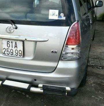 Cần bán gấp Toyota Innova sản xuất năm 2011, màu bạc chính chủ