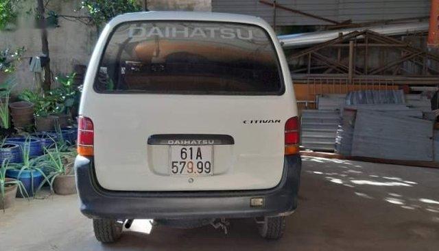 Bán Daihatsu Citivan đời 2003, màu trắng, xe bảy chỗ zin, ốc bảy màu