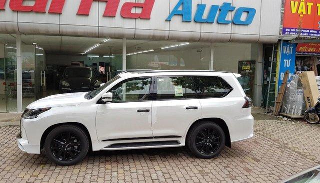 Cần bán xe Lexus LX 570 Black Edition S model 2019, màu trắng, nhập khẩu