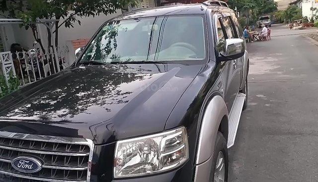 Bán Ford Everest đời 2008, màu đen, nhập khẩu nguyên chiếc