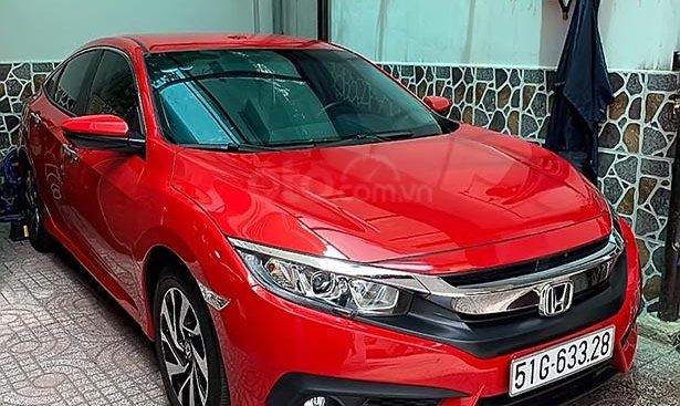 Bán Honda Civic đời 2018, màu đỏ, nhập khẩu, giá 770tr