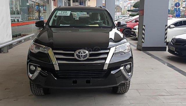 Bán xe Toyota Fortuner 2.4G 4x2 AT sản xuất năm 2019, màu đen, nhập khẩu nguyên chiếc