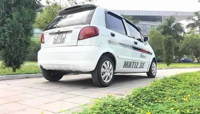 Cần bán lại xe Daewoo Matiz SE năm sản xuất 2005, màu trắng