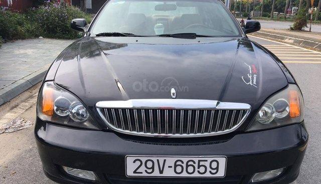Bán xe Daewoo Magnus đời 2005, màu đen, giá 135tr
