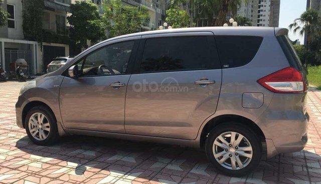 Cần bán xe Suzuki Ertiga 2016 số tự động, màu xám titan