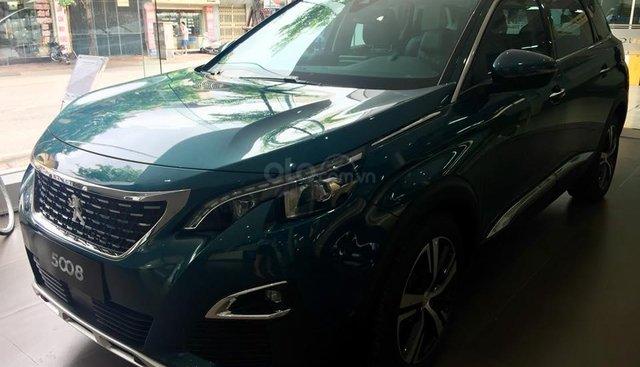 Cần bán Peugeot 5008 đời 2019, màu xanh lam