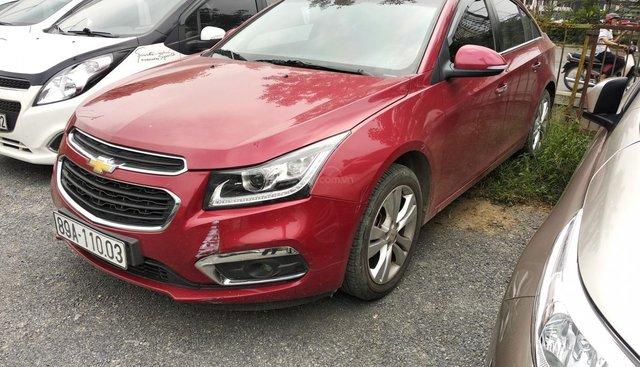 Bán Chevrolet Cruze năm sản xuất 2017, màu đỏ số tự động, 455 triệu