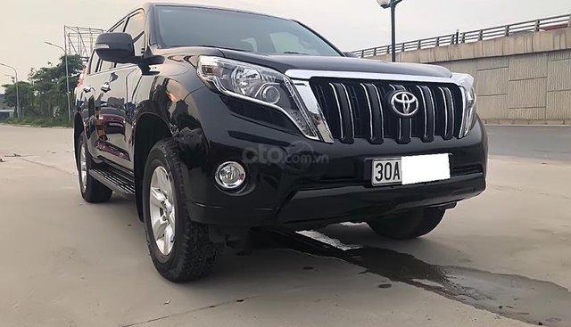 Cần bán lại xe Toyota Prado TXL 2.7L năm sản xuất 2014, màu đen, nhập khẩu