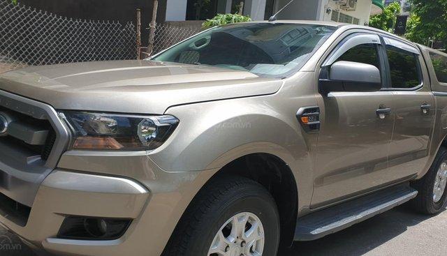 Bán Ford Ranger XLS 2.2 MT 4×2 máy dầu số sàn, đời t2/2017 sx 2016, màu vàng, nhập khẩu còn mới 90%