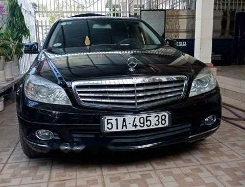 Cần bán Mercedes C250 đời 2010, màu đen, xe nhập, xe đi rất đẹp