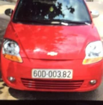 Cần bán xe Chevrolet Spark Van sản xuất 2015, màu đỏ, đồng sơn đẹp