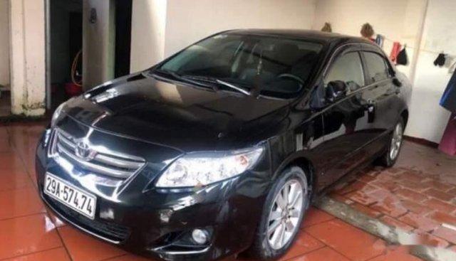 Bán Toyota Corolla altis đời 2009, màu đen, nhập khẩu