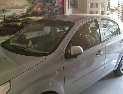 Bán xe Chevrolet Aveo sản xuất 2018, màu bạc, xe gia đình sử dụng