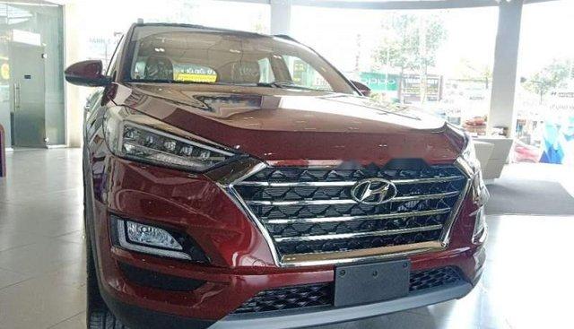 Bán ô tô Hyundai Tucson năm sản xuất 2019, màu đỏ, thủ tục ngân hàng nhanh gọn lẹ giao xe tận nhà