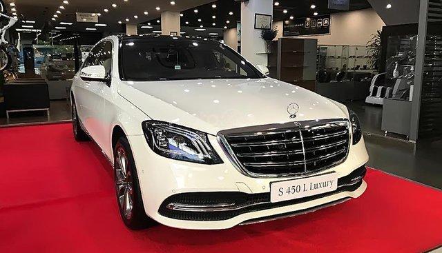 Cần bán Mercedes S450L Luxury sản xuất 2019, màu trắng