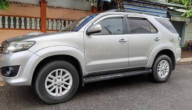 Bán Toyota Fortuner 2.5G sản xuất năm 2013, màu bạc