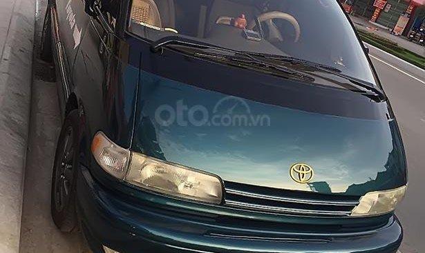 Bán Toyota Previa đời 1996, màu xanh lam, xe nhập