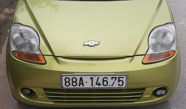 Bán ô tô Chevrolet Spark năm sản xuất 2010, màu xanh lam, xe nhập