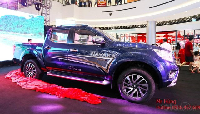 Bán xe Nissan Navara VL sản xuất năm 2019, màu xanh lam, nhập khẩu Thái