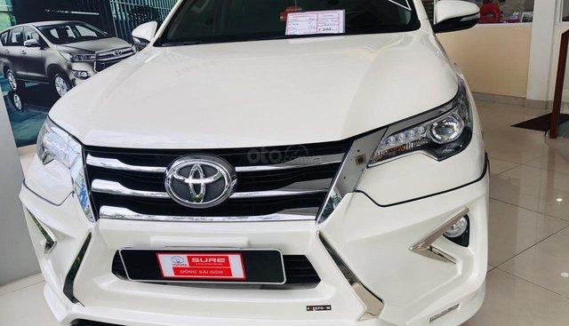 Toyota Fortuner V 2017, màu trắng, nhập khẩu. Hỗ trợ ngân hàng 70%