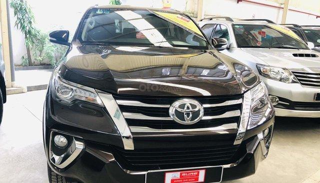 Toyota Fortuner V 2017, màu nâu- hỗ trợ ngân hàng
