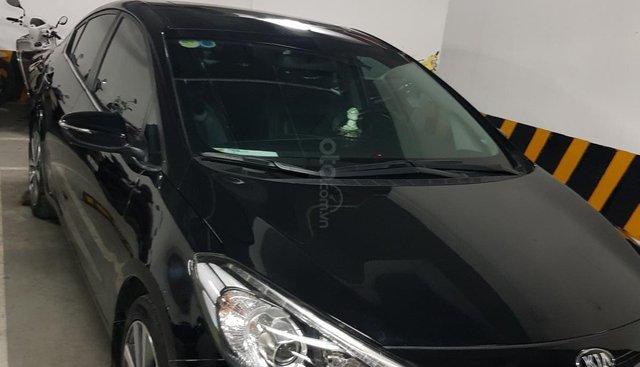 Bán xe Kia K3 đời 2015, màu đen