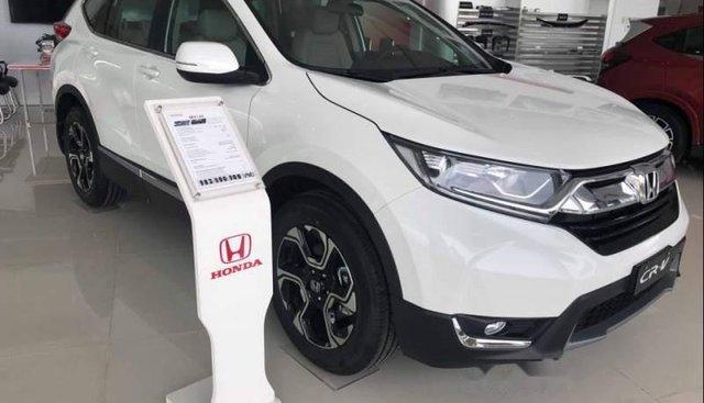 Cần bán xe Honda CR V sản xuất 2019, màu trắng, xe nhập Thái Lan