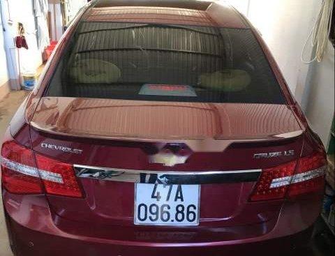Bán ô tô Chevrolet Cruze 1.6MT đời 2011, màu đỏ, nhập khẩu ít sử dụng
