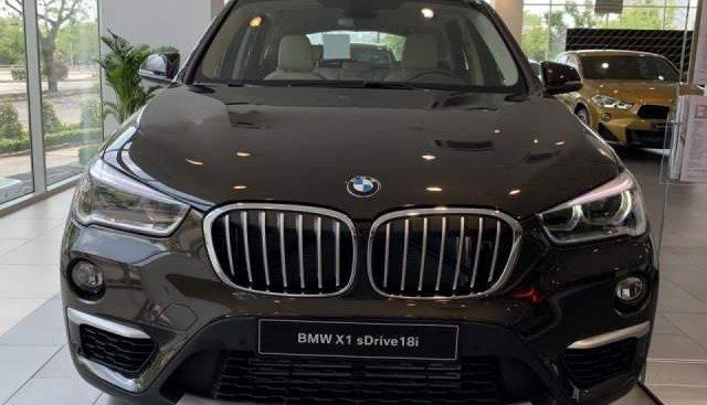 Bán BMW X1 sDrive18i năm sản xuất 2018, màu nâu, xe nhập