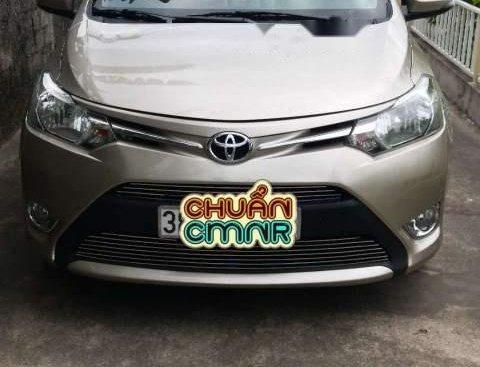 Bán Toyota Vios đời 2015, màu vàng