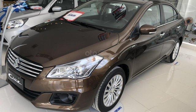 Suzuki Ciaz 499TR, trả trước 136tr, góp tháng đầu 8,3tr những tháng sau giảm dần