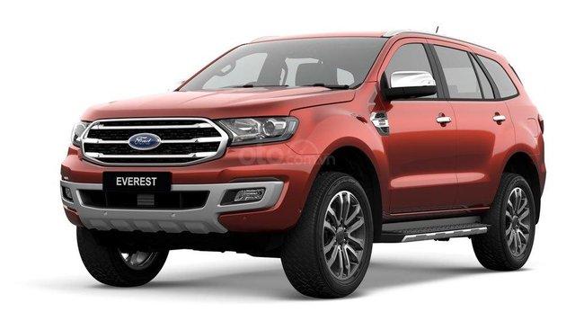 Ford Everest KM khủng, vay NH 90%, 230tr lấy xe ngay giao xe tận nhà