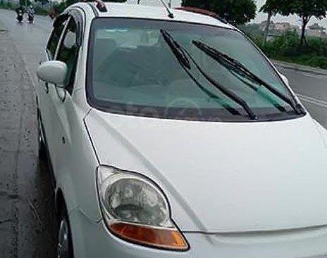 Bán Chevrolet Spark LT 0.8 MT đời 2009, màu trắng, số sàn