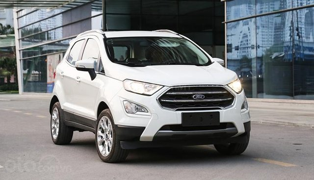 Ford EcoSport KM khủng, vay NH 90%, 133tr giao xe tận nhà