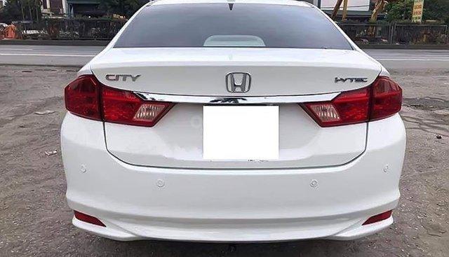 Bán xe Honda City 1.5AT đời 2015, màu trắng