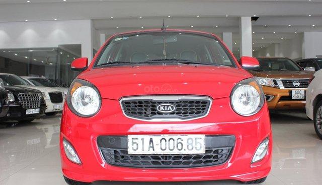 Bán xe Kia Morning 2010, màu đỏ, nhập khẩu