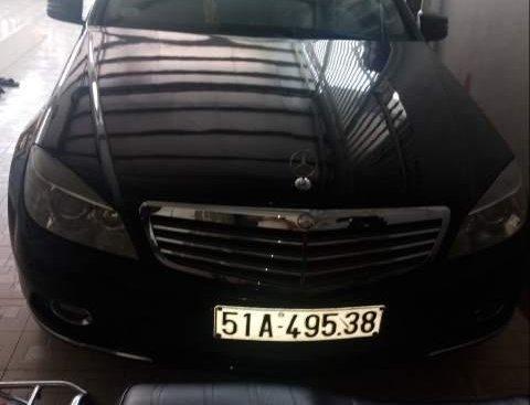Bán Mercedes C250 sản xuất 2010, màu đen như mới