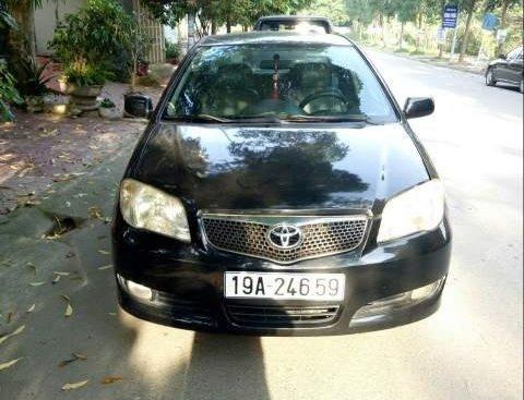 Bán xe Toyota Vios G đời 2007, màu đen chính chủ