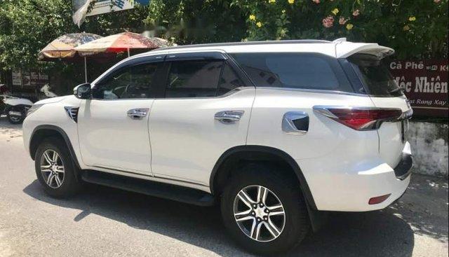 Bán xe Toyota Fortuner sản xuất năm 2017, màu trắng, nhập khẩu nguyên chiếc, chính chủ