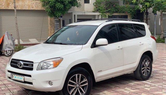 Cần bán xe Toyota RAV4 3.5AT đời 2008, màu trắng, nhập khẩu nguyên chiếc, giá chỉ 505 triệu