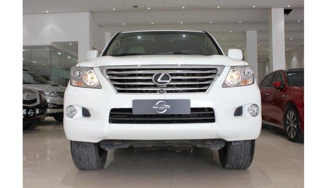 HCM: Bán Lexus LX 570 2010, màu trắng, xe nhập