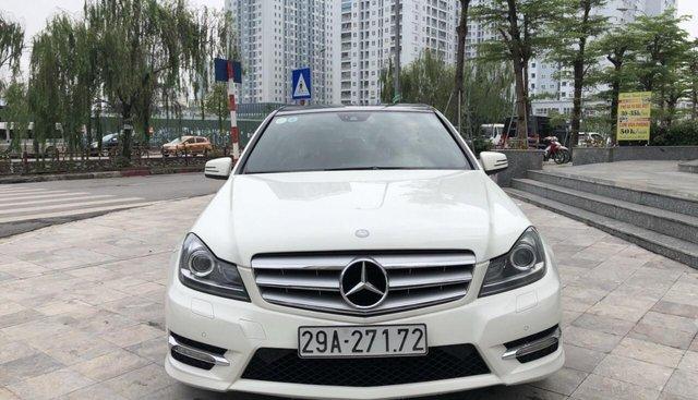 Cần bán xe Mercedes C300 AMG đời 2011, màu trắng