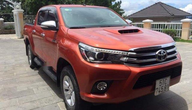 Cần bán lại xe Toyota Hilux G sản xuất 2016, màu đỏ, nhập khẩu nguyên chiếc xe gia đình, 660 triệu