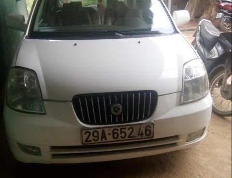 Cần bán gấp Kia Morning năm 2004, màu trắng, xe nhập xe gia đình
