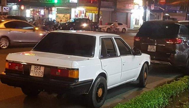 Bán Nissan Bluebird 1986, màu trắng, nhập khẩu nguyên chiếc chính chủ, 90tr