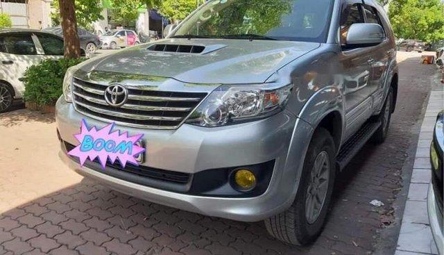 Bán xe Toyota Fortuner năm sản xuất 2014, màu bạc, xe nhập như mới