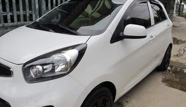 Cần bán lại xe Kia Morning đời 2014, màu trắng còn mới